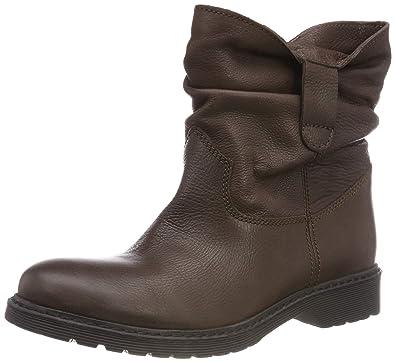 26876f57b7c2 Buffalo Damen Peacock Leather Stiefeletten, Braun (Brown 01 00), 36 EU