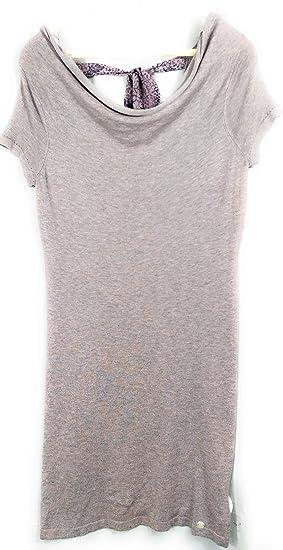 qualité acheter pas cher New York LPB - Robe Pull Foulard - Femme - Rose/Gris Pale - T.M ...