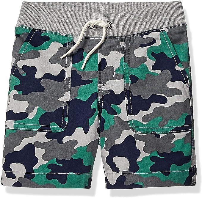 Spotted Zebra Boys Toddler /& Kids 2-Pack Pull-on Play Shorts Brand