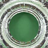100 UNIVERSAL Round Aluminum Foil Gas Burner Bib