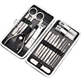 Manicure Set Pedicure Nail Clippers Professional Grooming Kit Ear Pick Foot Care Hard Care