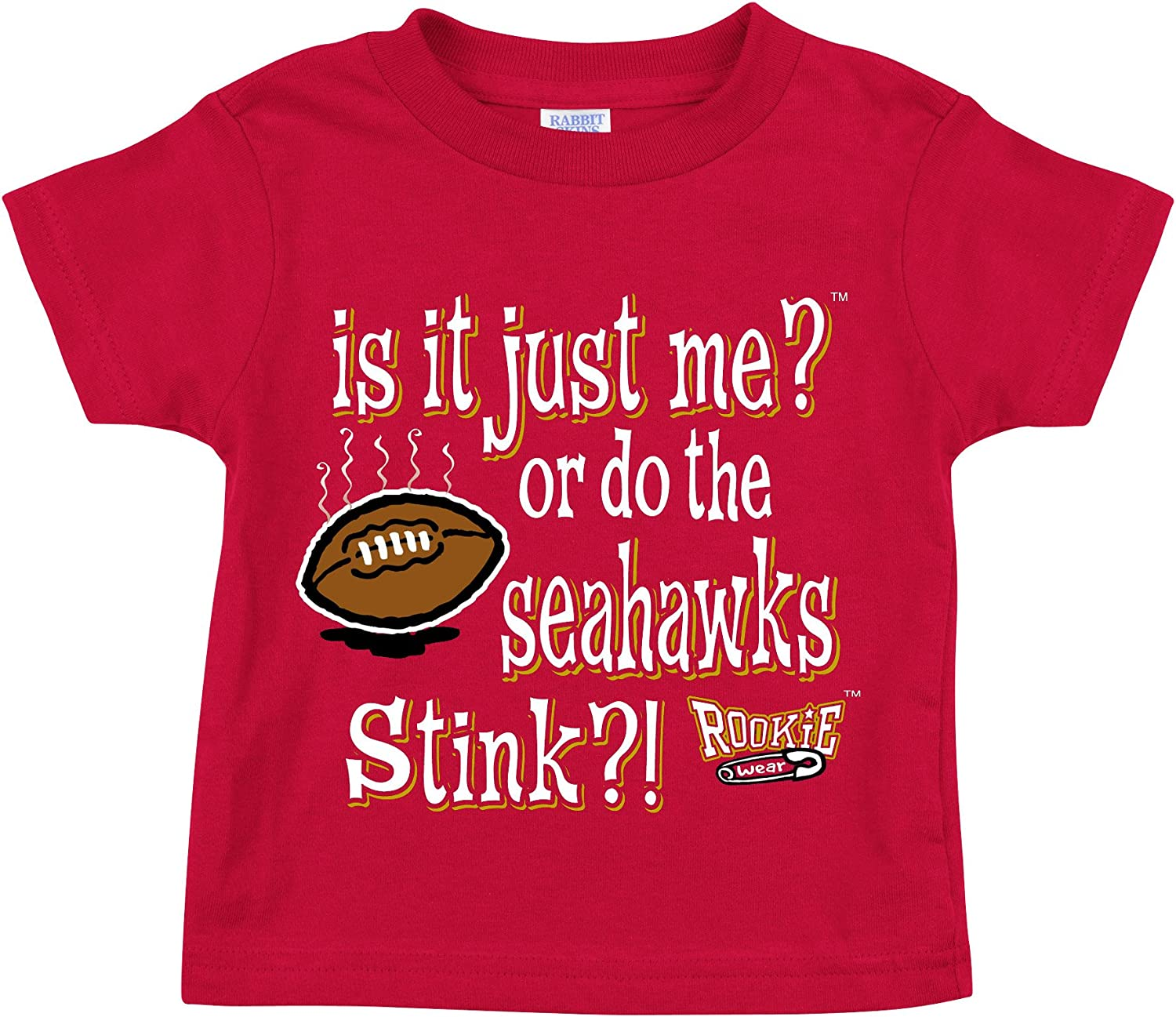 2T-4T is It Just Me? Onesie Smack Apparel San Francisco Football Fans NB-18M or Toddler Tee