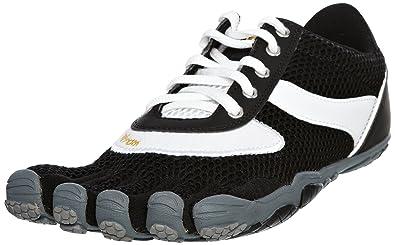 huge discount 15eab 29950 Vibram FiveFingers Women s Speed Black White Black Trainer 5F W368BB-42 8