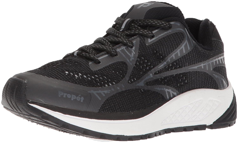Propét Women's Propet One Lt Sneaker B073DL5RSS 9 4E US|Black/Grey