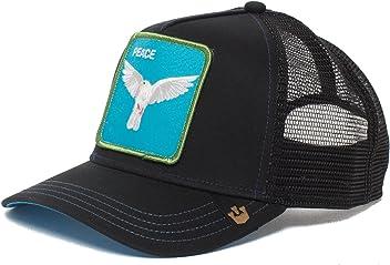 Goorin Bros. Animal Farm  Peace Keeper  Dove Snapback Trucker Hat Black e26ae4666273