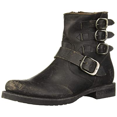 FRYE Women's Veronica Belted Short Boot: Shoes