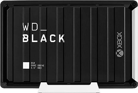 WD Black D10 - Game Drive de 12 TB y 7200 r.p.m. con refrigeración ...