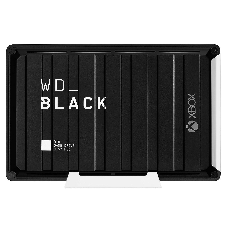 WD_Black 12TB D10 Game Drive for Xbox One, External Hard Drive (7200 RPM) - WDBA5E0120HBK-NESN