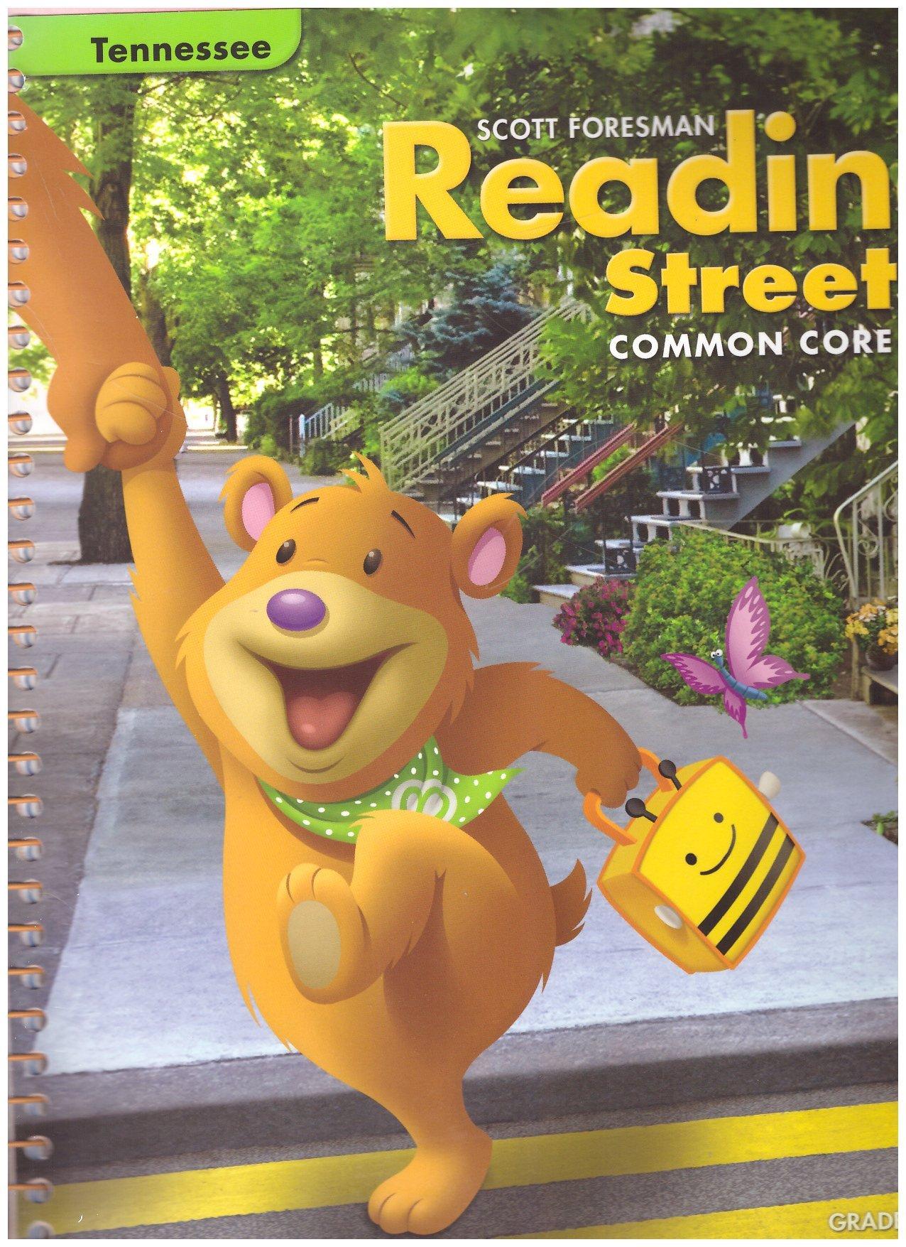 Read Online Reading Street Grade K.6, Tennessee Teacher Manual Common Core PDF