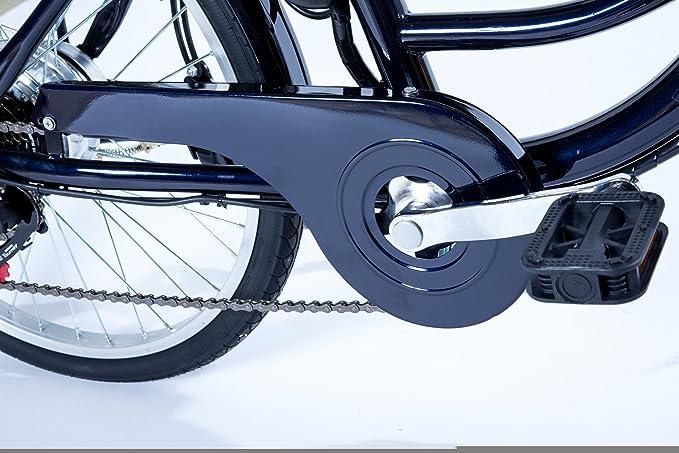Velobecane City E-bike, blau, 166 x 18 x 111 cm: Amazon.de: Sport ...