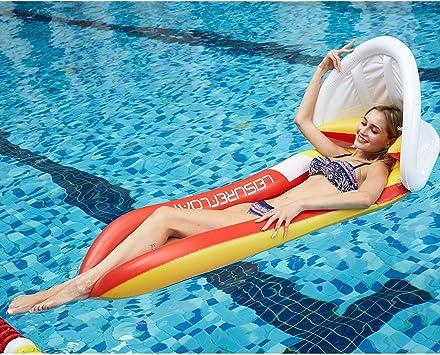 Colchoneta hinchable piscina