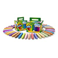 Crayola Washable Sidewalk Chalk Set, Outdoor, 72 Count