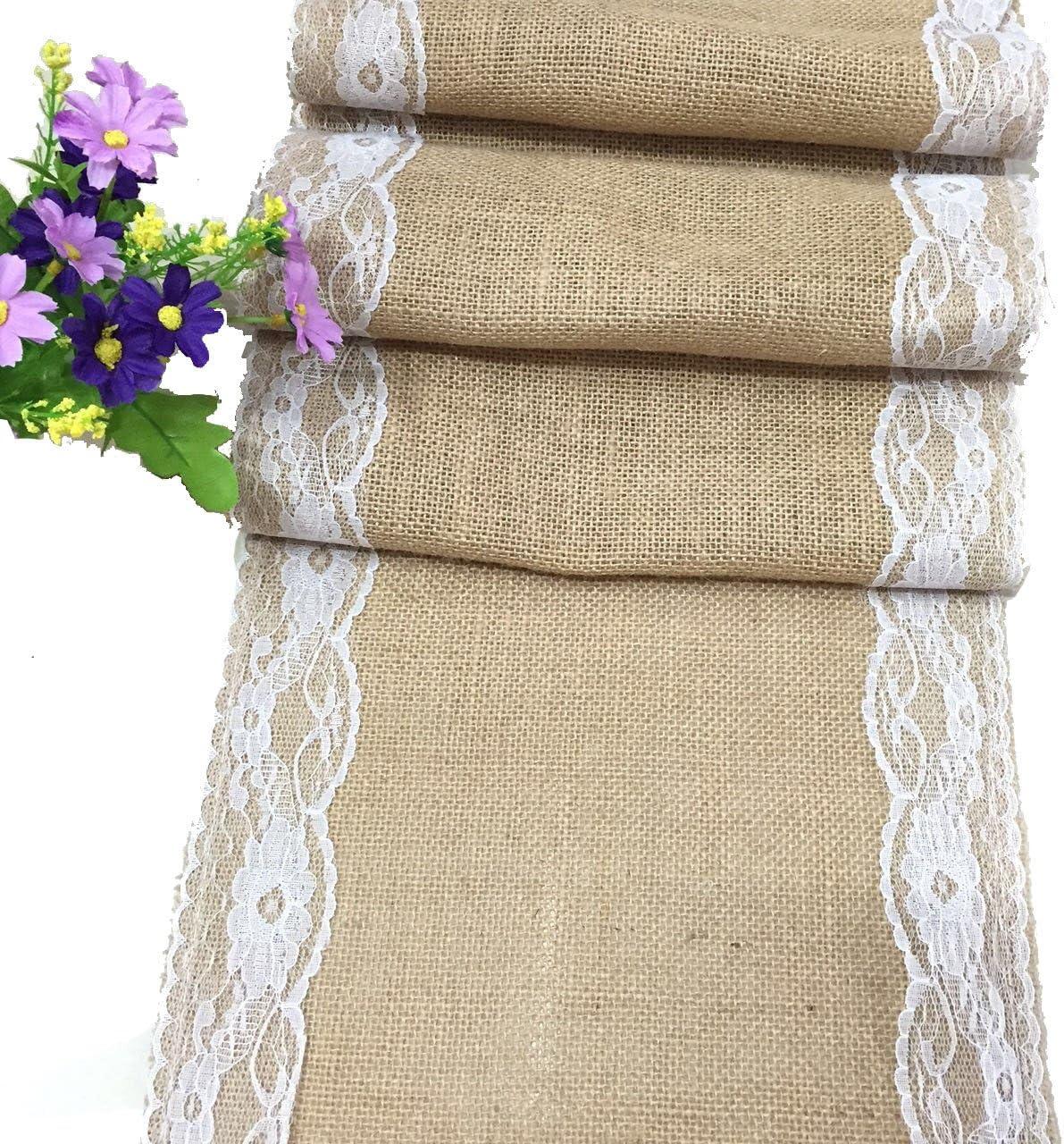 Tela de lino rectangular mantel de encaje funda para mesa ...
