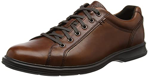 Rockport Men's Dressports 2 Lite Lace up Oxfords, Brown (Brown Leather), 9