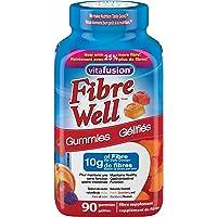 Vitafusion Fiber Well Gummies, 3 Fruit Flavours, 90 Count