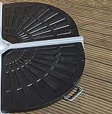 Bentley Garden - Pied lesté pour parasol avec 2 poids - pour parasol suspendu