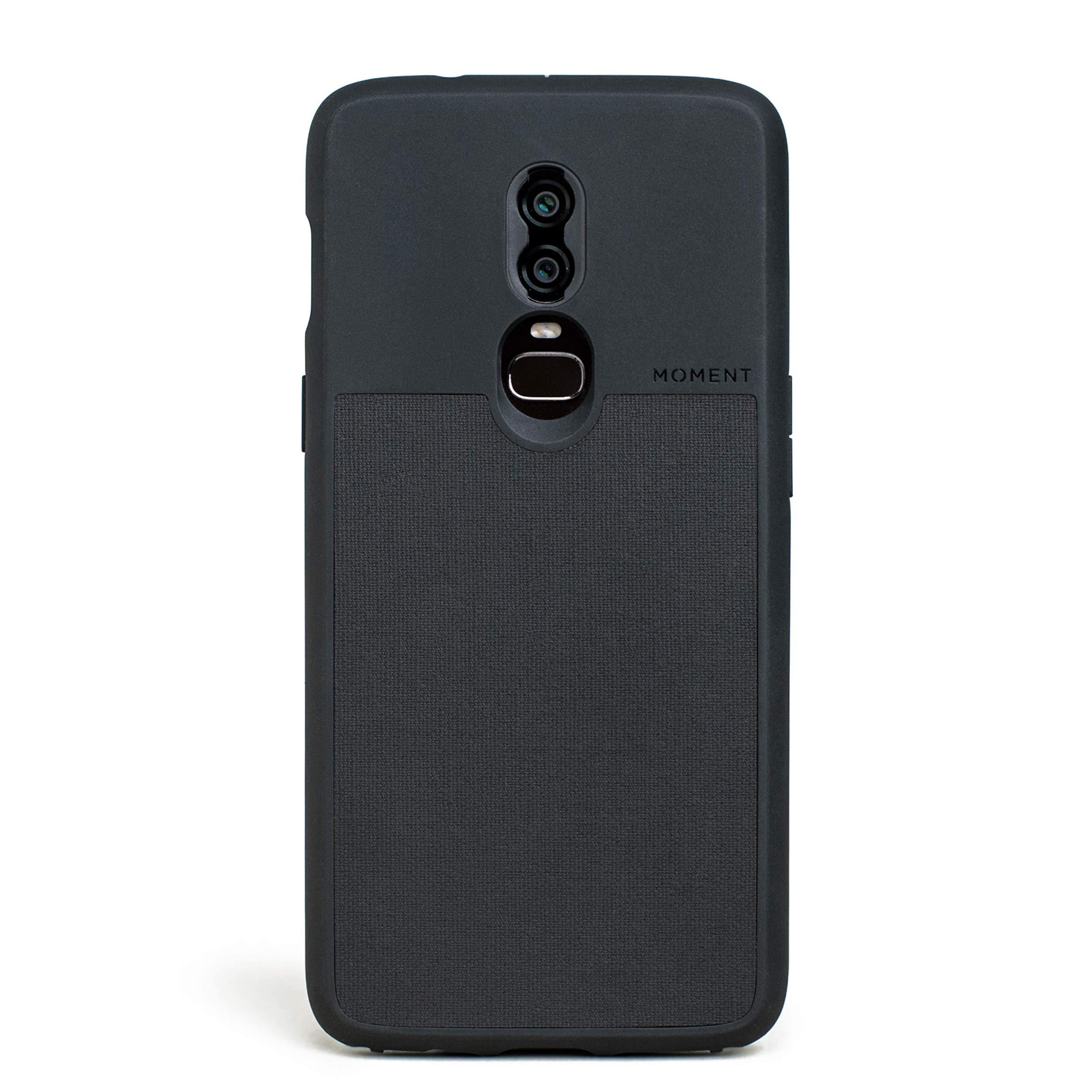 ویکالا · خرید  اصل اورجینال · خرید از آمازون · OnePlus 6 Case || Moment Photo Case in Black Canvas - Thin, Protective, Wrist Strap Friendly case for Camera Lovers. wekala · ویکالا