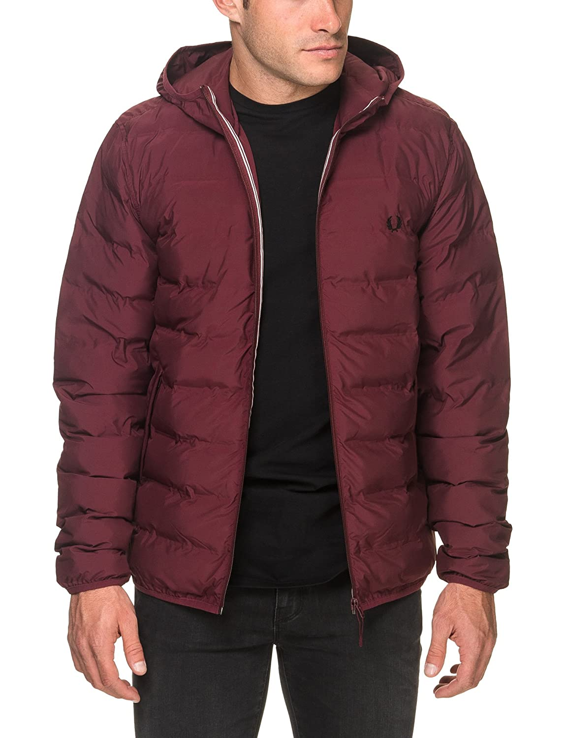 Amazon.com: Fred Perry Mens Jacket JK2514 Size L Red: Fred Perry: Clothing