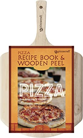 Pizzacraft Pizza Recipe Book Wood Peel – PC0220