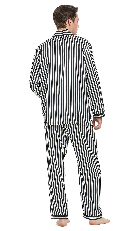 68a8b63b6b LILYSILK 2Pcs Silk Men s Pyjama