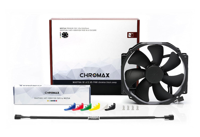 Amazon com: Noctua NF-A15 HS-PWM chromax Black swap, Premium