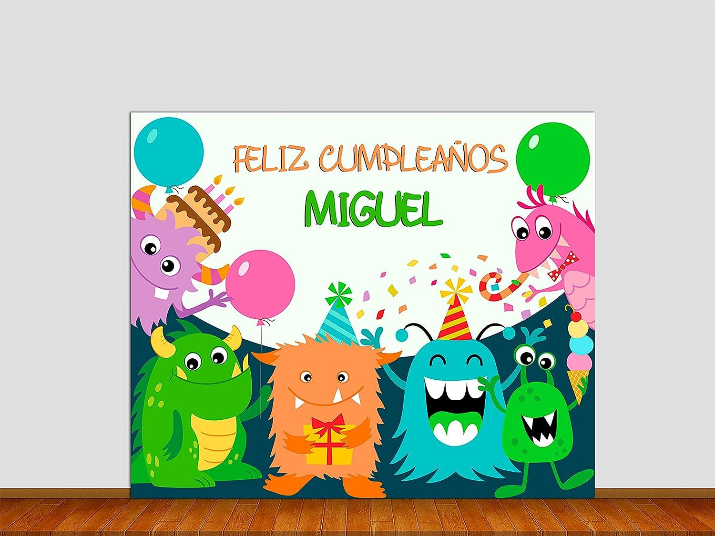 Oedim Photocall Cumpleaños Infantil 1,40x1,40m | Celebra el ...