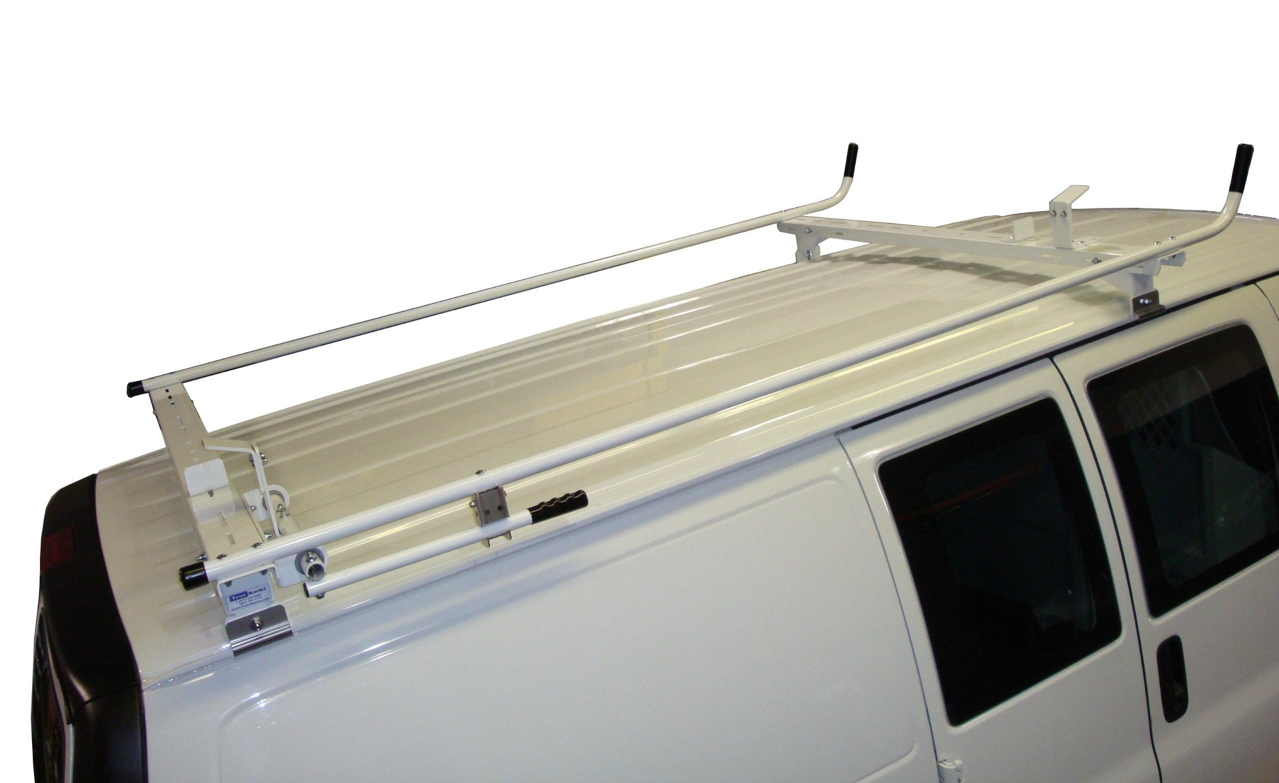 Aluminum Van Ladder Rack - Ford Econoline - Single Lock Down by True Racks (Image #1)