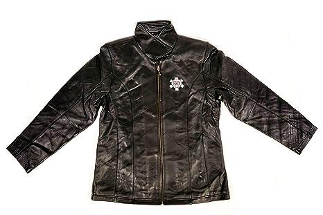 1ed7bd714 AUTHENTIC APPAREL WSOP World Series of Poker Women's Black Lambskin Leather  Jacket (Small)