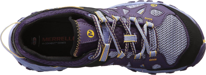 Merrell Women's All Out Blaze Aero Sport Hiking Water Shoe Parachute Purple
