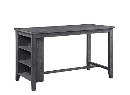 Elegant Homelegance Timbre 60u0026quot; X 30u0026quot; Counter Height Table ...