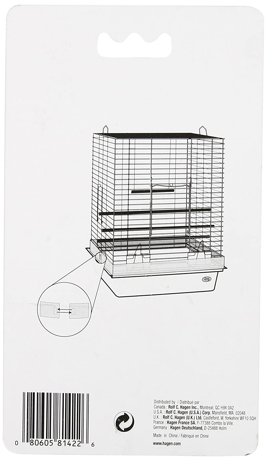 Living World Seed for Bird Cage 12.5x203/cm