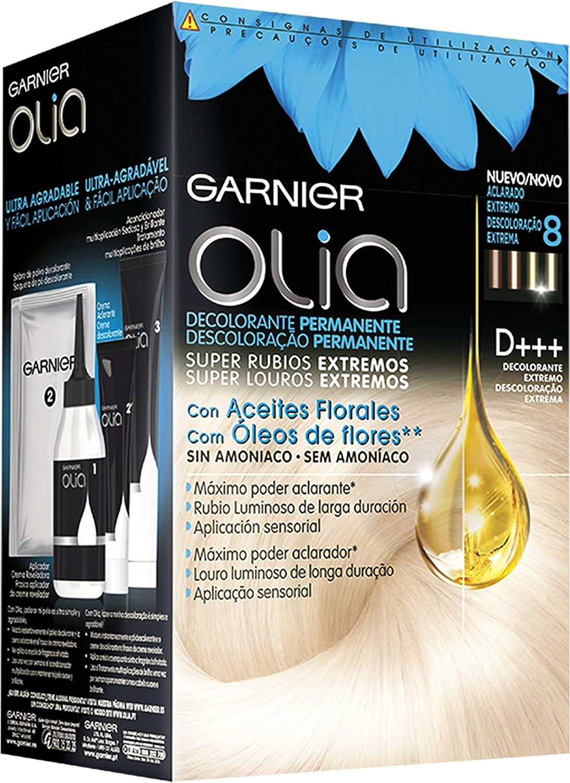 Garnier Olia - Decolorante Permanente sin Amoniaco, con Aceites Florales de Origen Natural - Decolorante Extremo D+++
