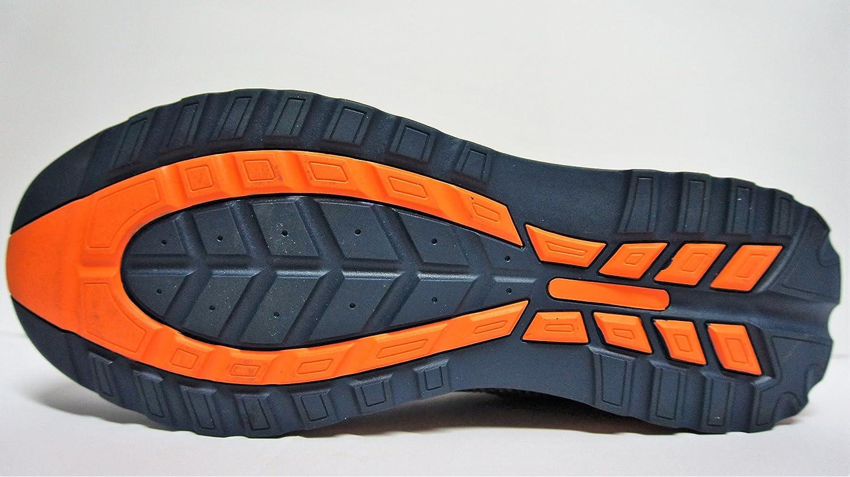 neosafety 66294Stahlkappe, High Heels mit Dämpfung, anti-estático, Sola anti-perforante, Orange/Schwarz