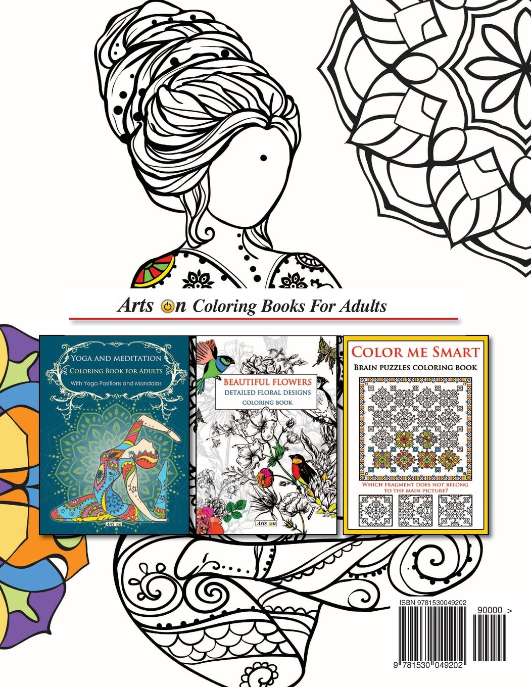 Yoga Coloring Book For Adults - Coloring Paper