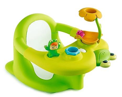 Piccola Vasca Da Bagno Nella Quale Si Sta Seduti : Smoby cotoons seggiolino da bagno colore: verde: amazon.it