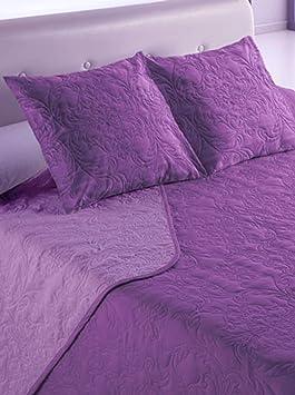 Couvre Lit Violet