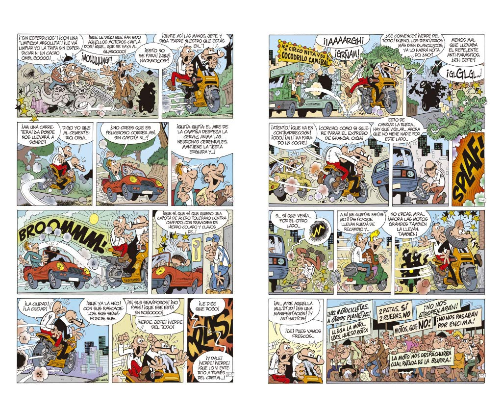¡Broommm! (Olé! Mortadelo 197): Francisco Ibáñez: 9788402421944: Amazon.com: Books