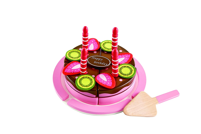 Hape E3140   Geburtstagskuchen, Holzspielzeug: Amazon.de: Spielzeug