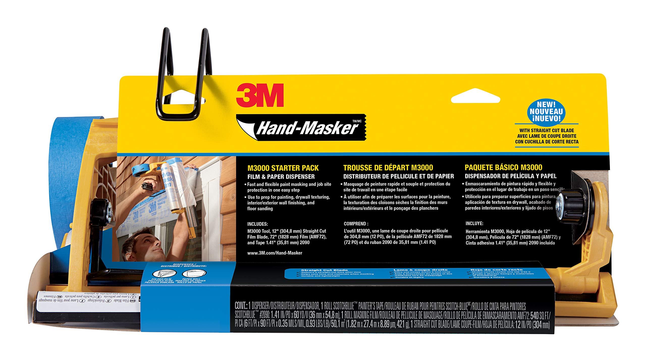3M Pre-Assembled Masking Film & Tape Kit 1Ea (M3000-PAK-SC) by 3M (Image #2)