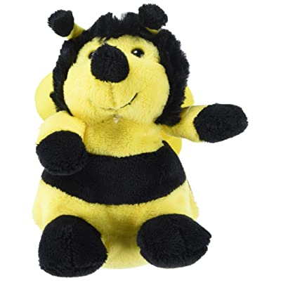 Rhode Island Novelty Bumble Bee Plush Bean Filled Stuffed Animal (1): Toys & Games