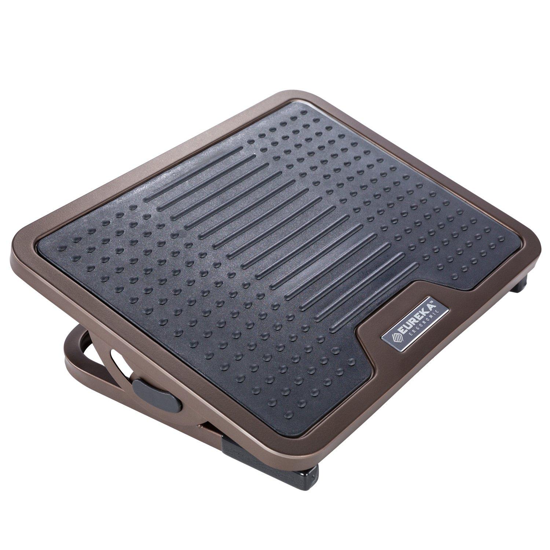 Eureka Ergonomic Adjustable Footrest with Lockable Angles Under Desk | Bronze