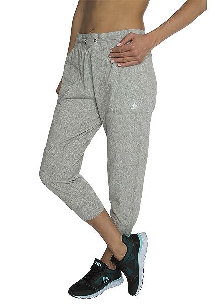 RBX Active - Pantalones de chándal para Mujer, algodón, Color Gris ...