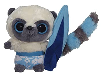 Yoohoo and Friends - Muñeco de peluche surfero (13 cm aprox.)