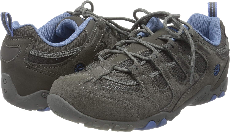 Hi-Tec Womens Quadra Classic Low Rise Hiking Boots