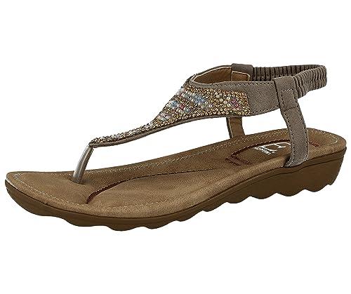 De Sintético Sandalias Emma Vestir Shoes Para Material Mujer H9IWD2EY