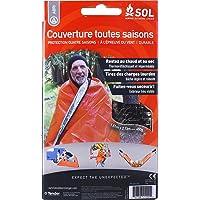Sol All Season Blanket Couverture Toutes Saisons Mixte Adulte, Orange
