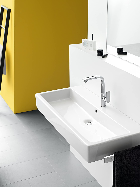 cromo Hansgrohe 31184000 Metris grifo monomando de lavabo 260 sin vaciador autom/ático