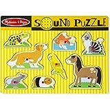 Melissa & Doug - 10730 - Puzzle Sonore - Animaux Domestiques