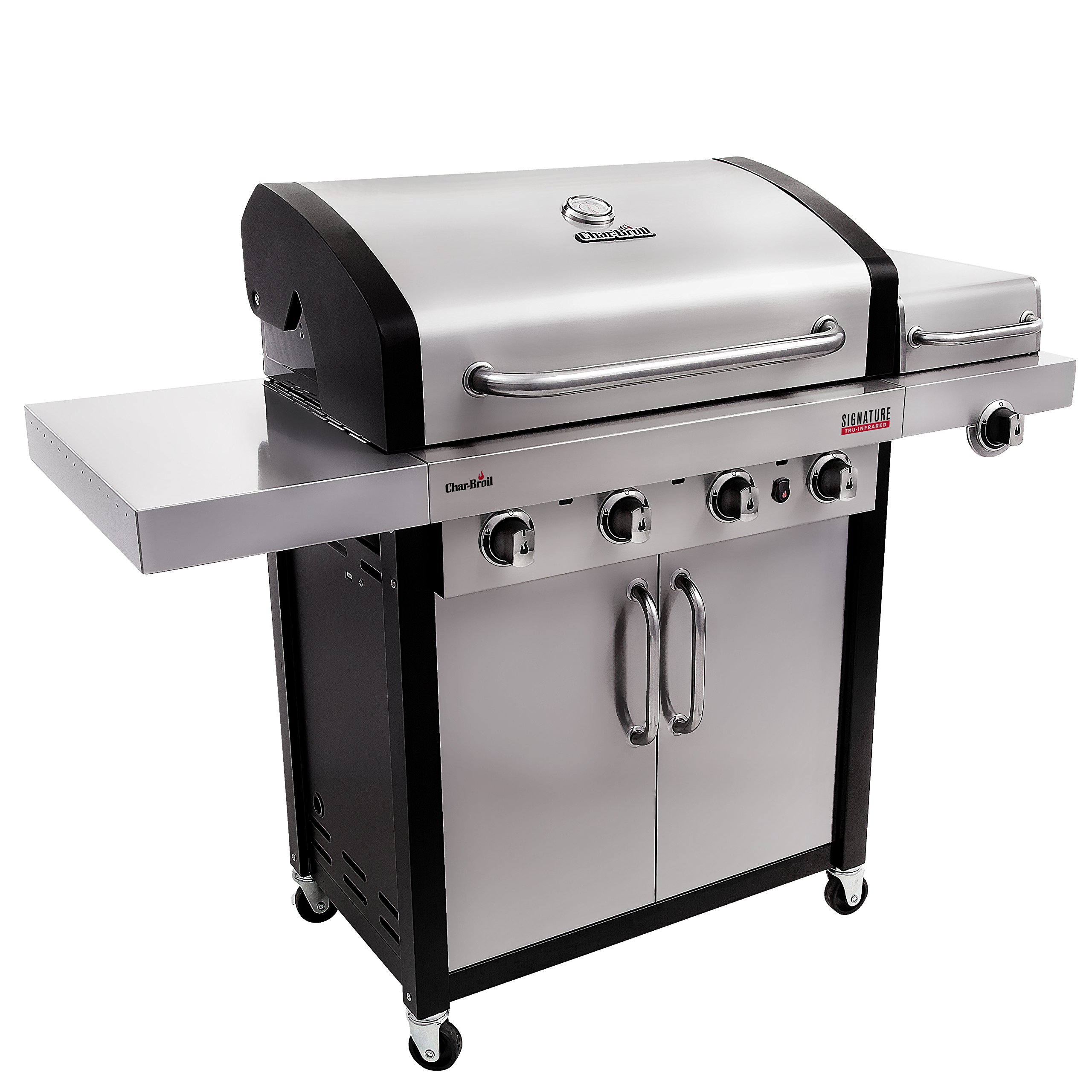 Char-Broil Signature TRU-Infrared 525 4-Burner Cabinet Liquid Propane Gas Grill by Char-Broil