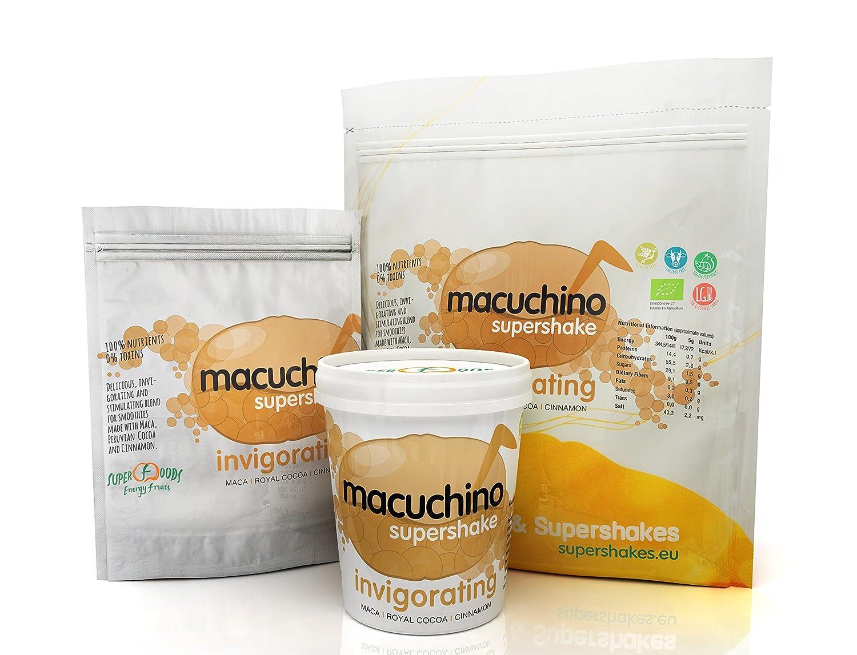 Energy Feelings Macuchino Ecológico - 3 Paquetes de 150 gr - Total: 450 gr: Amazon.es: Salud y cuidado personal